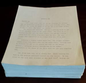 Colson's Law First Manuscript