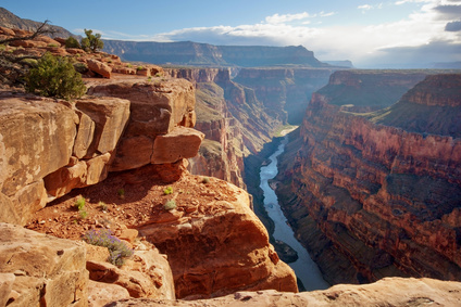Researching a canyon for my novel